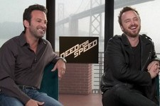 Aaron Paul Never Shook Making 'Need for Speed', Says He Used to Dream as Pinkman
