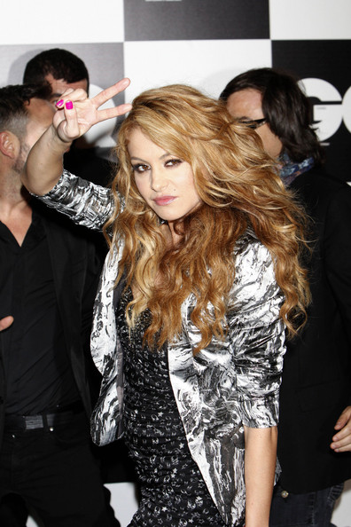 More Pics of Paulina Rubio Bright Nail Polish (1 of 18) - Paulina Rubio Lookbook - StyleBistro