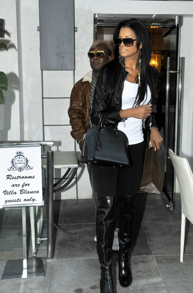 More Pics Of Claudia Jordan Over The Knee Boots 5 Of 5