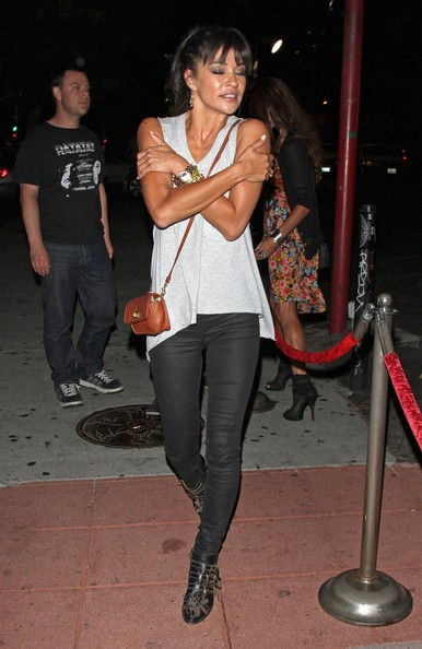 More Pics of Jessica Szohr Leather Purse (3 of 12) - Leather Purse Lookbook - StyleBistro