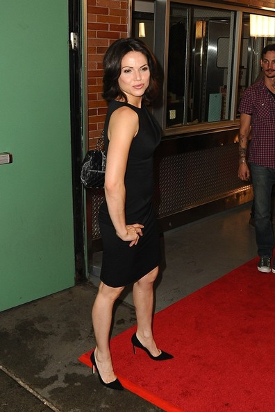 More Pics of Lana Parrilla Little Black Dress (1 of 9) - Lana Parrilla Lookbook - StyleBistro