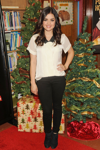 More Pics of Lucy Hale Loose Blouse (3 of 6) - Lucy Hale Lookbook - StyleBistro