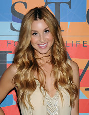 Whitney Port styled her hair in loose curls at a book launch in New York.