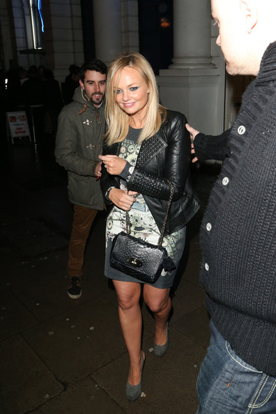 More Pics of Emma Bunton Leather Jacket (1 of 10) - Emma Bunton Lookbook - StyleBistro