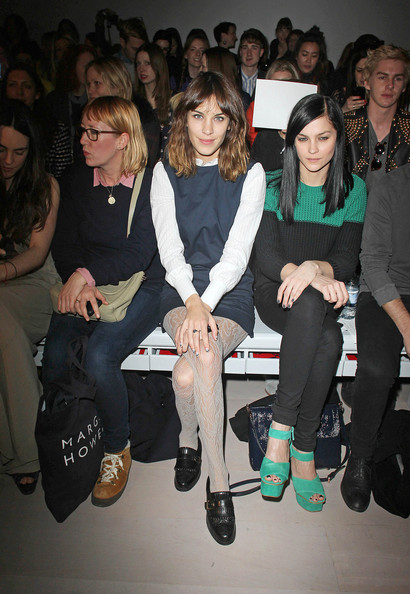 More Pics of Alexa Chung Tights (2 of 5) - Alexa Chung Lookbook - StyleBistro