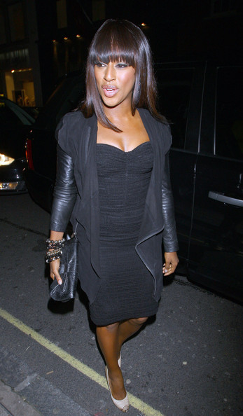 More Pics of Alexandra Burke Leather Clutch (1 of 5) - Alexandra Burke Lookbook - StyleBistro