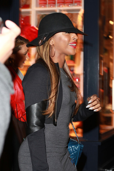 More Pics of Alexandra Burke Cropped Jacket (5 of 17) - Alexandra Burke Lookbook - StyleBistro