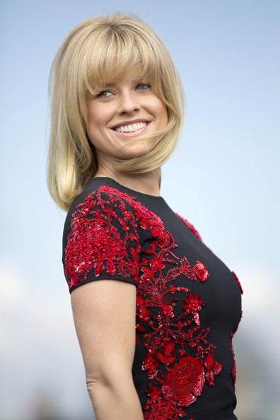 Alice Eve Medium Straight Cut with Bangs