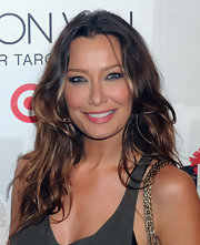 Sky Nellor attended the launch of Jason Wu for Target wearing smoky shadow and black of eyeliner.