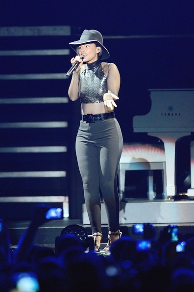 Alicia Keys Skinny Pants