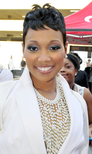 Monica in The 2010 BET Awards Arrivals