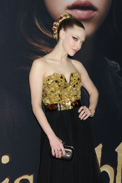 Amanda Seyfried Hard Case Clutch