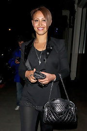 Amelle Berrabah of the Sugababes is just one of the latest celebs to take the plunge and sport the half-shaven look.