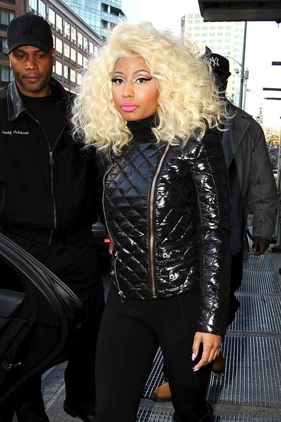 More Pics of Nicki Minaj Over the Knee Boots (5 of 18) - Over the Knee Boots Lookbook - StyleBistro