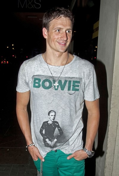 More Pics of Ryan Lochte T-Shirt (5 of 49) - Ryan Lochte Lookbook - StyleBistro