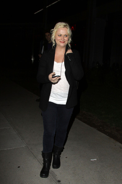 Amy Poehler Motorcycle Boots []