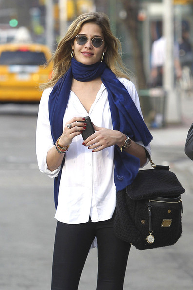 More Pics of Ana Beatriz Barros Solid Scarf (1 of 12) - Ana Beatriz Barros Lookbook - StyleBistro