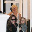 Kingston Rossdale and Shiloh Jolie-Pitt