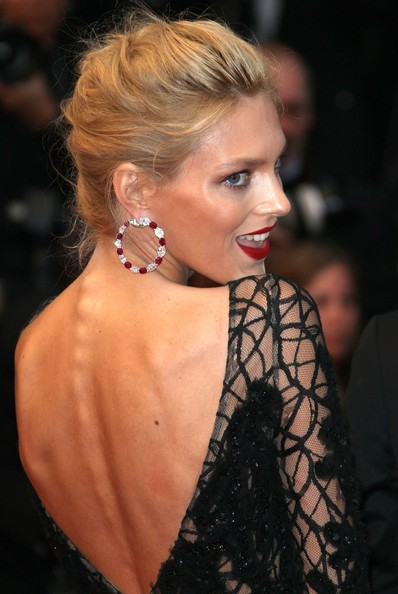 Anja Rubik French Braid