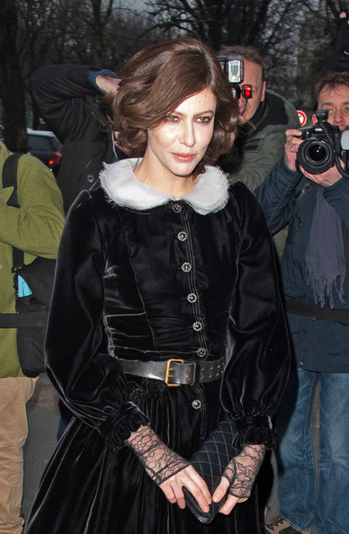 Celebs Out for Fashion Week in Paris 3