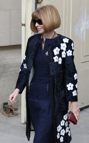 Celebs at the Chanel Fashion Show