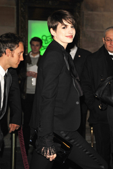 More Pics of Anne Hathaway Pixie (2 of 6) - Short Hairstyles Lookbook - StyleBistro