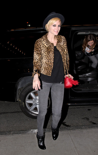 Ashlee Simpson Cropped Jacket