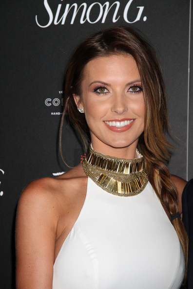 Audrina Patridge Long Braided Hairstyle