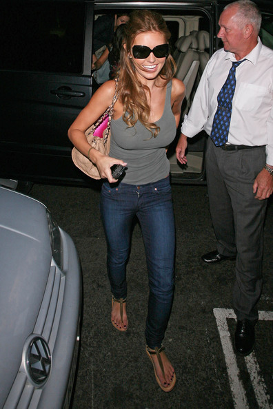 Audrina Patridge Thong Sandals