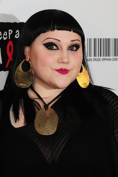 Beth Ditto Cat Eyes