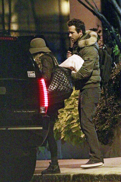 Ryan Reynolds and Blake Lively Out in Boston