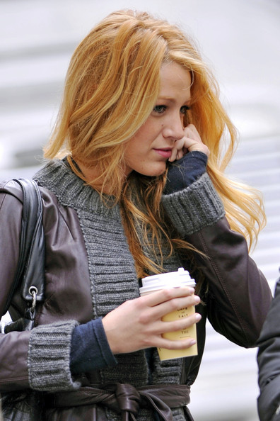 More Pics of Blake Lively Quilted Leather Bag (1 of 5) - Quilted Leather Bag Lookbook - StyleBistro