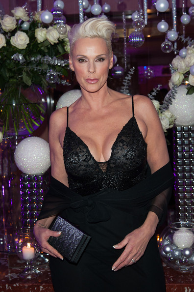 More Pics of Brigitte Nielsen Evening Dress (5 of 8) - Brigitte Nielsen Lookbook - StyleBistro
