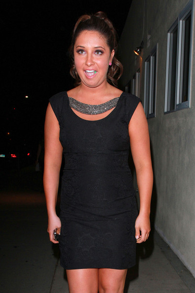 Bristol Palin Little Black Dress
