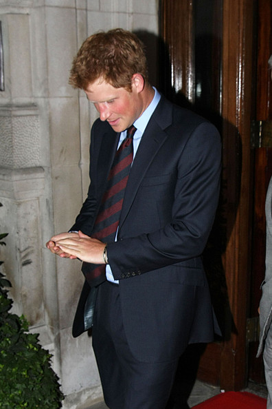 More Pics of Prince Harry Messy Cut (1 of 6) - Messy Cut Lookbook - StyleBistro