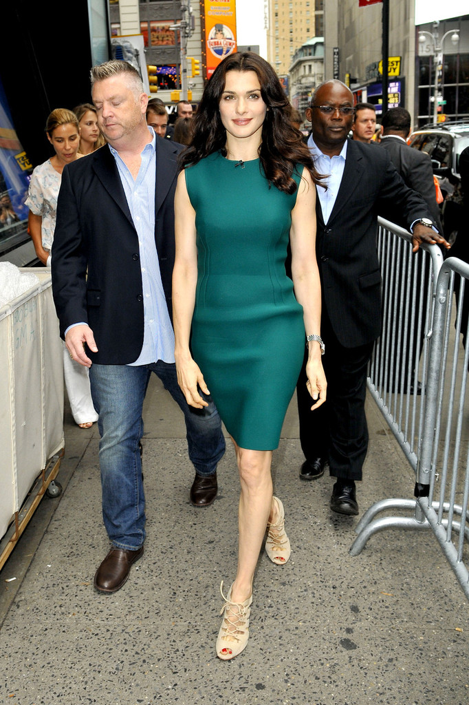 Rachel Weisz Visits 'Good Morning America'