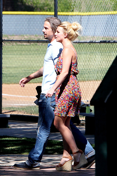 Britney Spears Wedges