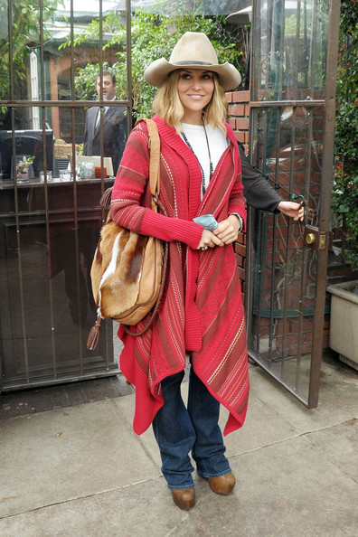Brooke Mueller Leather Hobo Bag