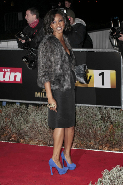 More Pics of Alexandra Burke Fur Coat (1 of 1) - Alexandra Burke Lookbook - StyleBistro
