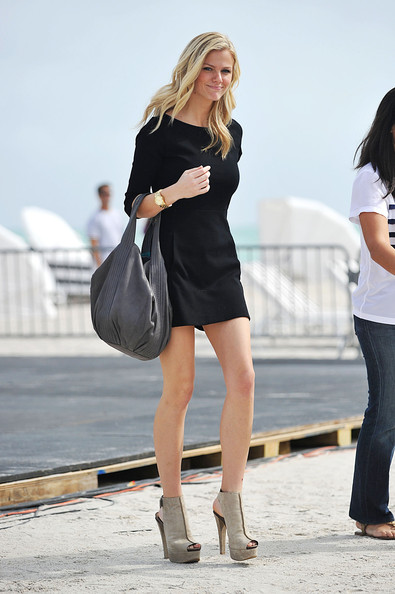 Brooklyn Decker Cutout Boots