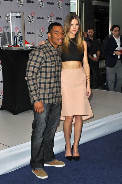 Brooklyn Decker and Ray Rice Shave