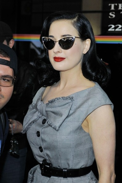 c09db5ab911c More Pics of Dita Von Teese Cateye Sunglasses (17 of 29) - Dita Von Teese  Lookbook - StyleBistro