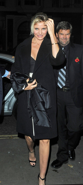 Cameron Diaz Evening Coat