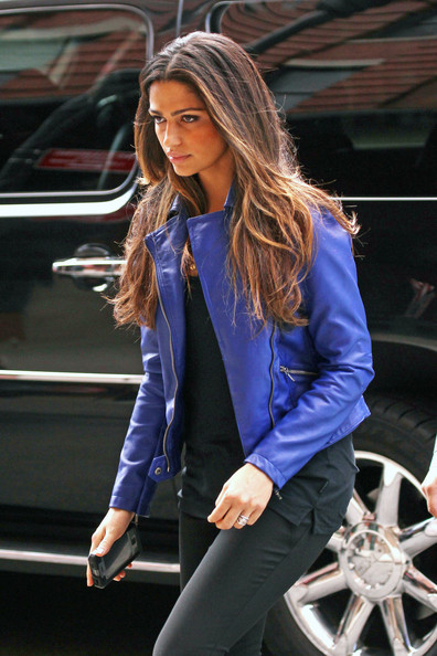 Camila Alves Motorcycle Jacket