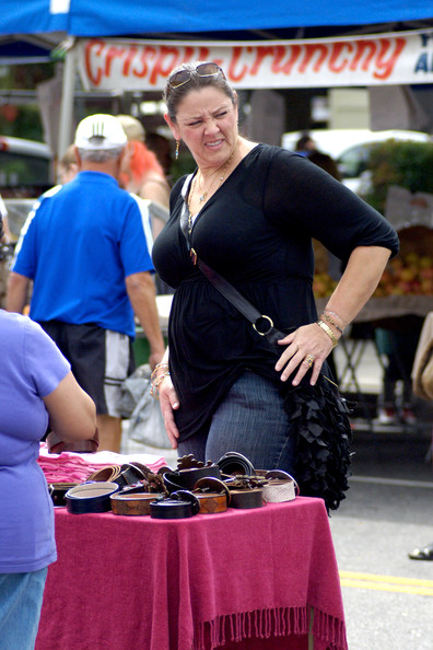 More Pics of Camryn Manheim Leather Hobo Bag (5 of 6) - Camryn Manheim Lookbook - StyleBistro
