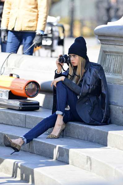 More Pics of Cara Delevingne Down Jacket (1 of 50) - Down Jacket Lookbook - StyleBistro