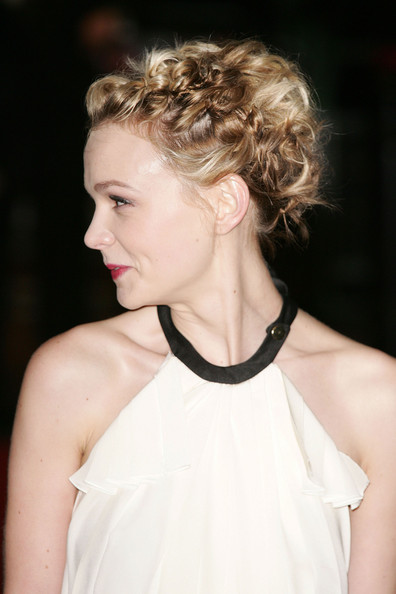 Pictures of Celebrity Short Hair Updos