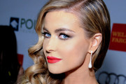 Carmen Electra Dangling Diamond Earrings