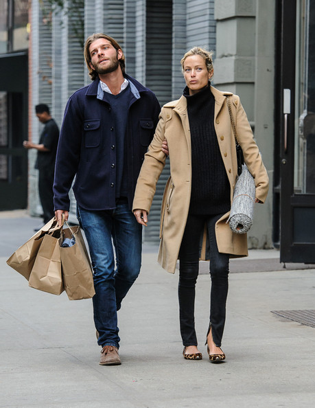 Carolyn Murphy Wool Coat