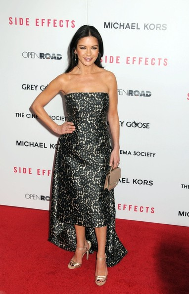 More Pics of Catherine Zeta-Jones Fishtail Dress (5 of 10) - Fishtail Dress Lookbook - StyleBistro